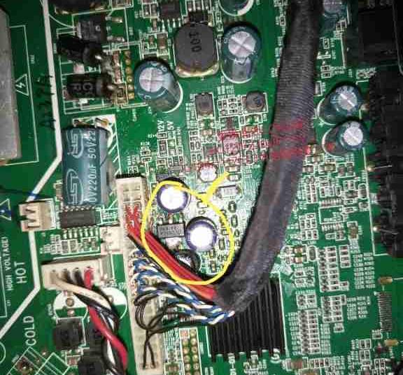 海尔LE32B50在闭路电视状态开机后死机,视频状态正常,且AV/TV均无声1