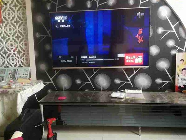 海信LED55K370液晶电视开机后无图像故障维修4