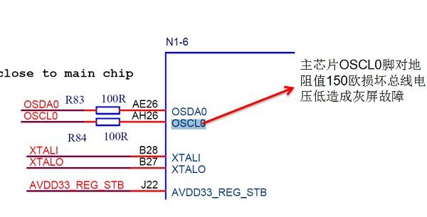 海信LED43K3100液晶电视灰屏故障维修一例