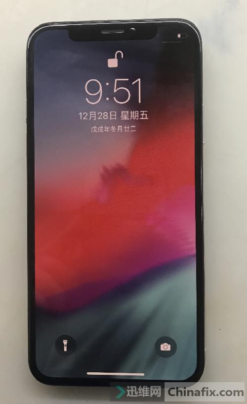 iphone X手机面容录入不了故障维修 图6
