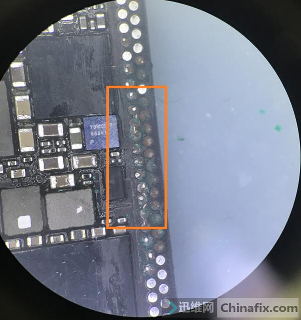 iPhone X手机无触摸故障维修 图1
