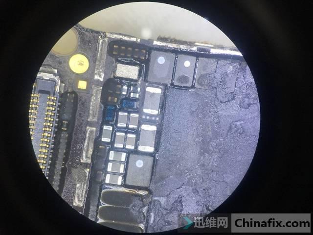 iPhone 7手机小电流不开机故障维修 图4