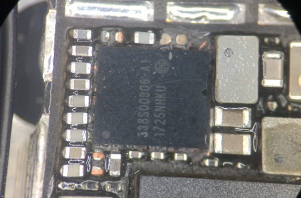 iPhone 8手机后摄无法拍照故障维修 图2