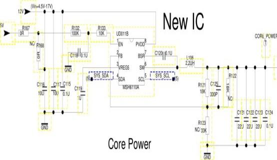 TCL L55P1-CUD液晶电视不开机故障维修案例