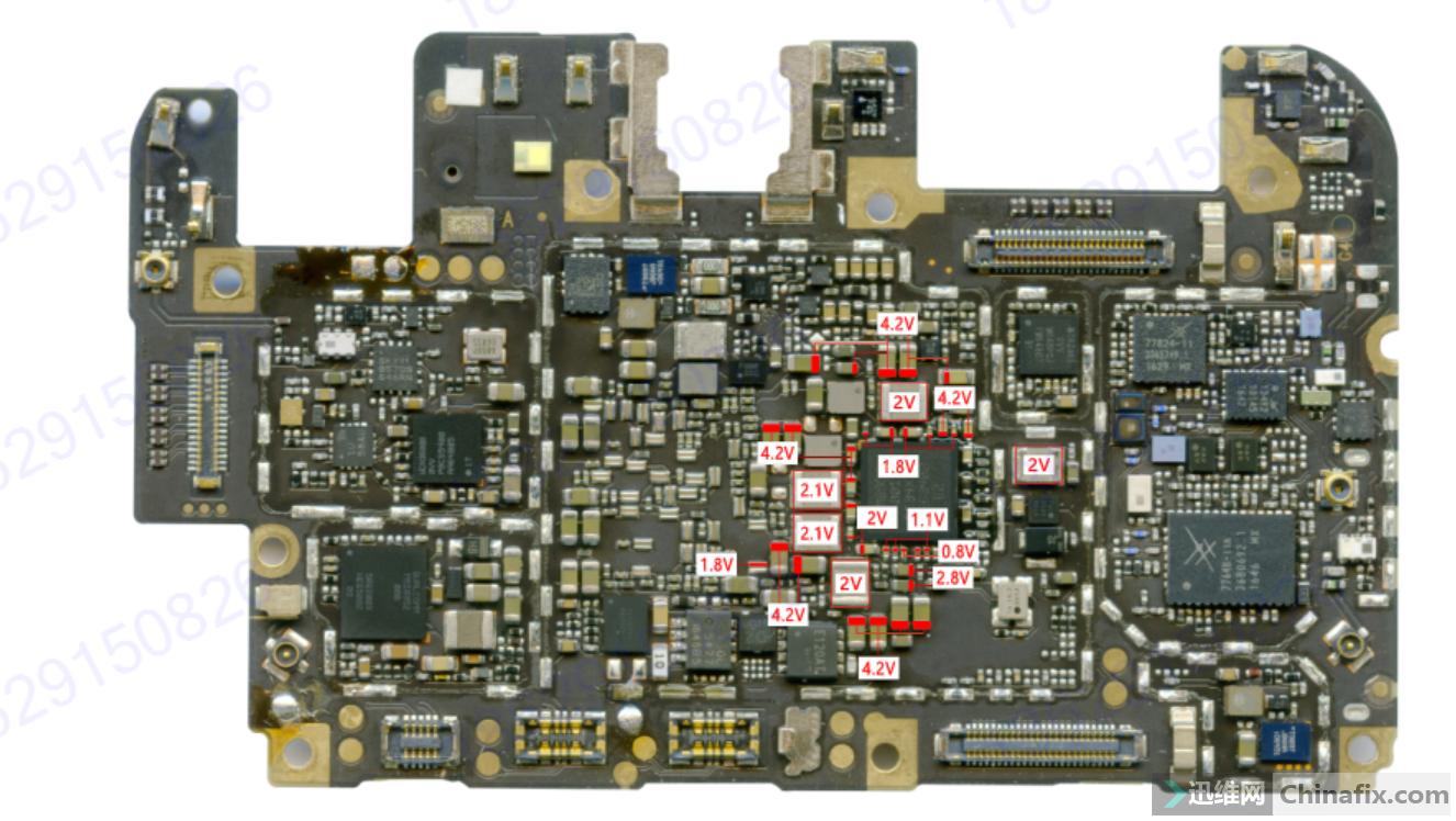 VIVO X9P的供电图.png