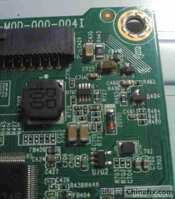 联想L2364A液晶显示器不通电故障维修一例