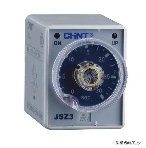 时间继电器怎么看图接线?这可是星三角接触器接线必备元件-2.jpg
