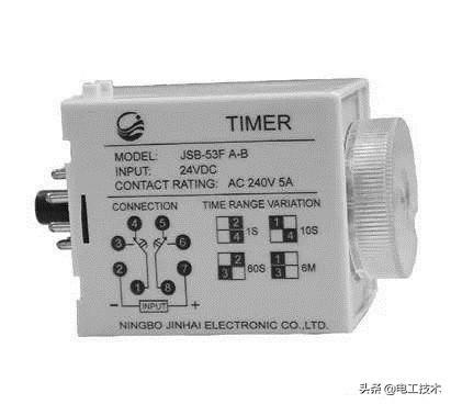 时间继电器怎么看图接线?这可是星三角接触器接线必备元件-3.jpg
