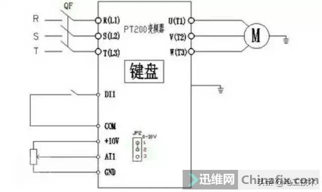 变频器外部接线大全,全是实物接线图,值得收藏-4.jpg