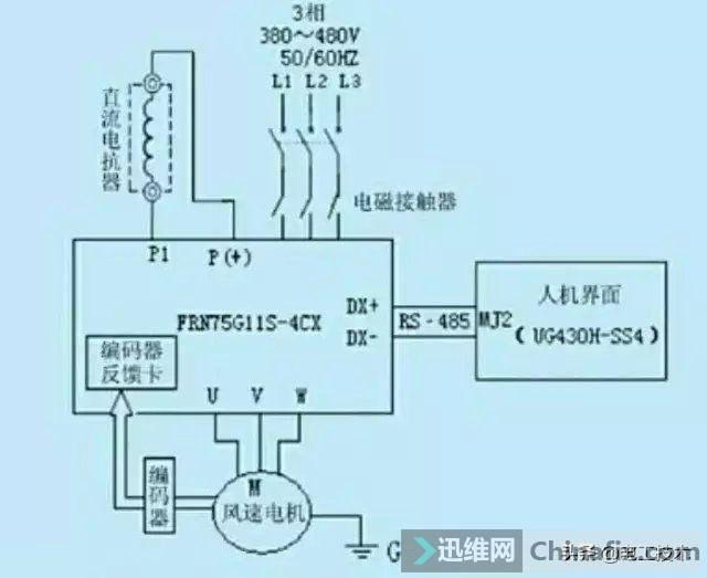 变频器外部接线大全,全是实物接线图,值得收藏-3.jpg