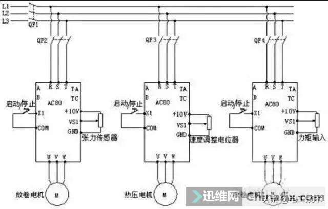 变频器外部接线大全,全是实物接线图,值得收藏-7.jpg