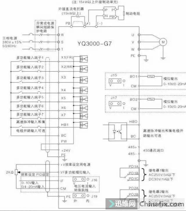 变频器外部接线大全,全是实物接线图,值得收藏-12.jpg