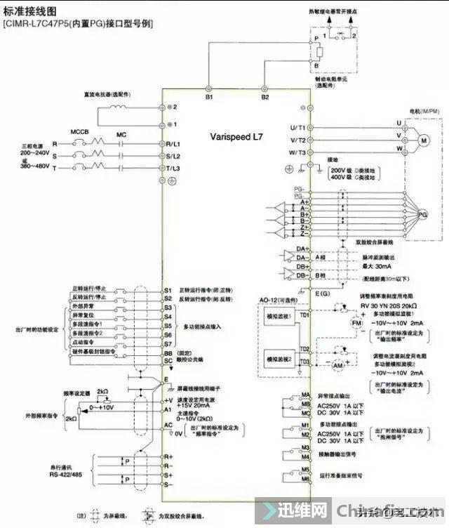 变频器外部接线大全,全是实物接线图,值得收藏-19.jpg