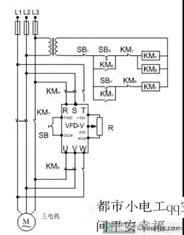 变频器外部接线大全,全是实物接线图,值得收藏-23.jpg