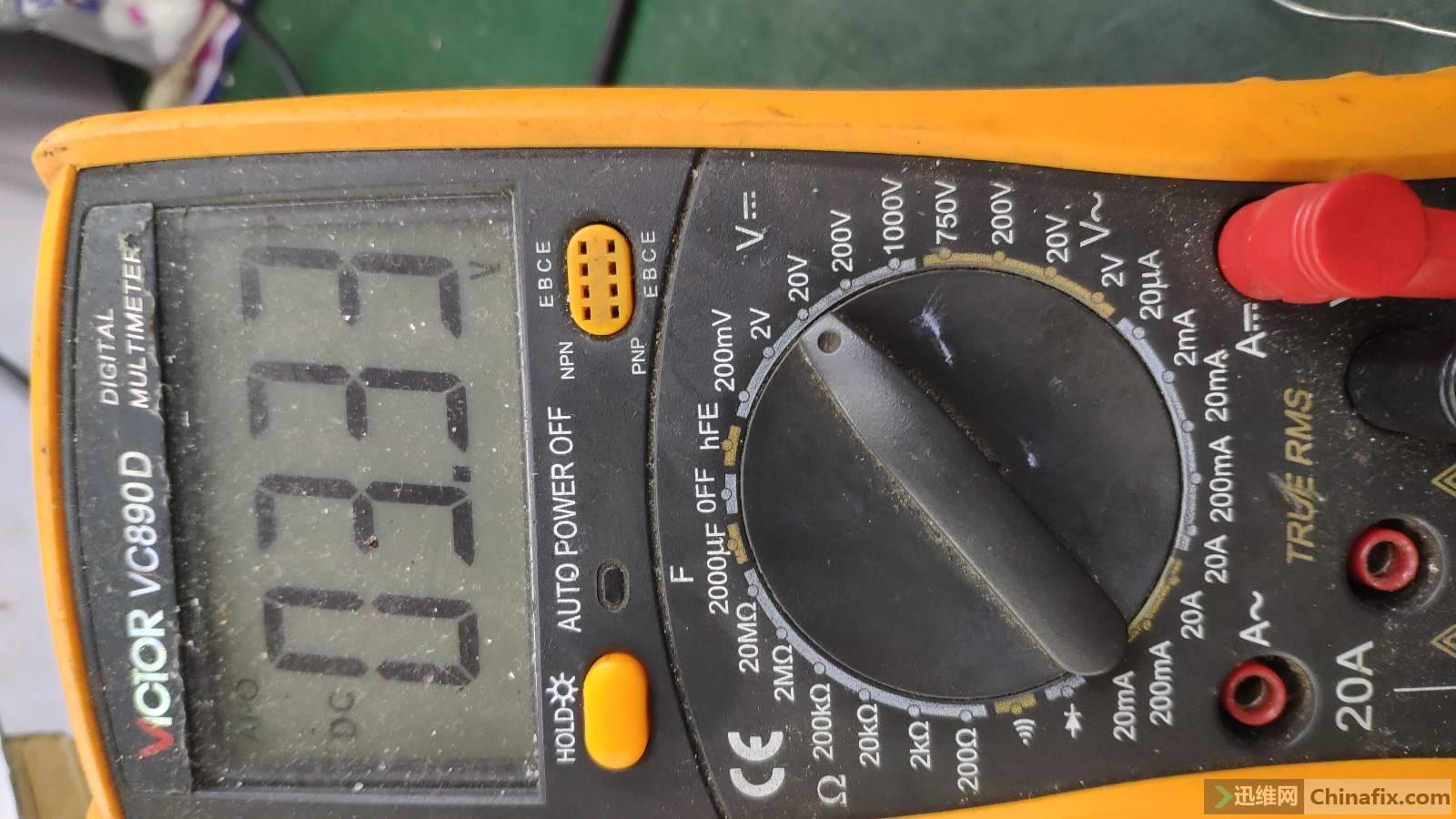 正常EN电压为3.3V