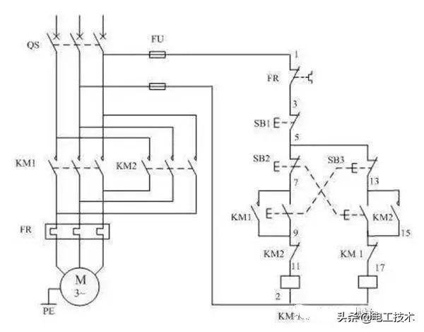 2分钟搞懂三相异步电机正反转和自锁控制电路及接线图-1.jpg