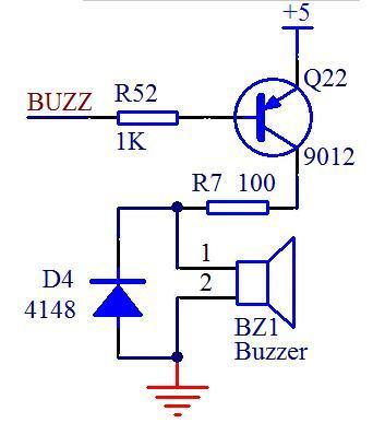 单片机蜂鸣器的控制程序与驱动电路图-1.jpg