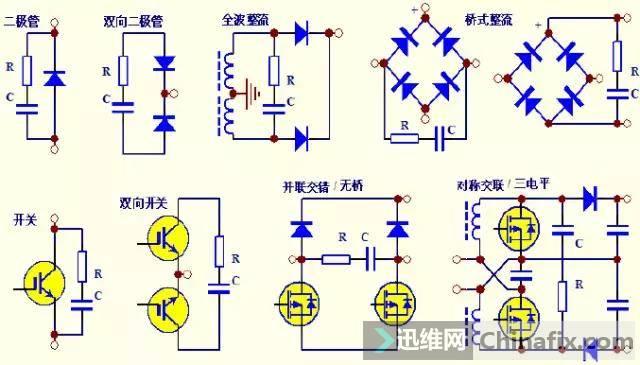 多图解析开关电源中一切缓冲吸收电路-4.jpg