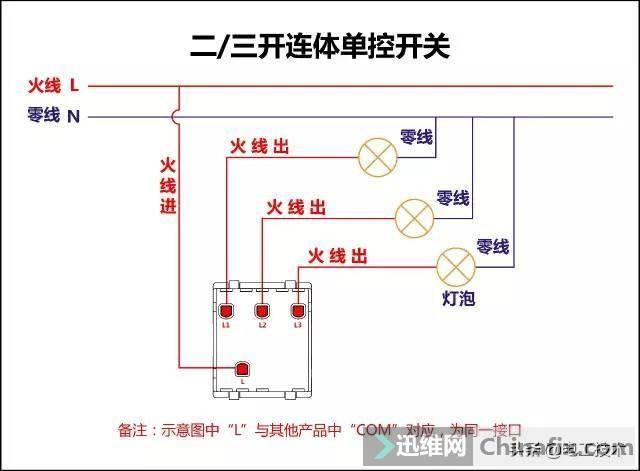所有开关 电机 断路器 电热偶 电表接线图大全!非常值得收藏-2.jpg