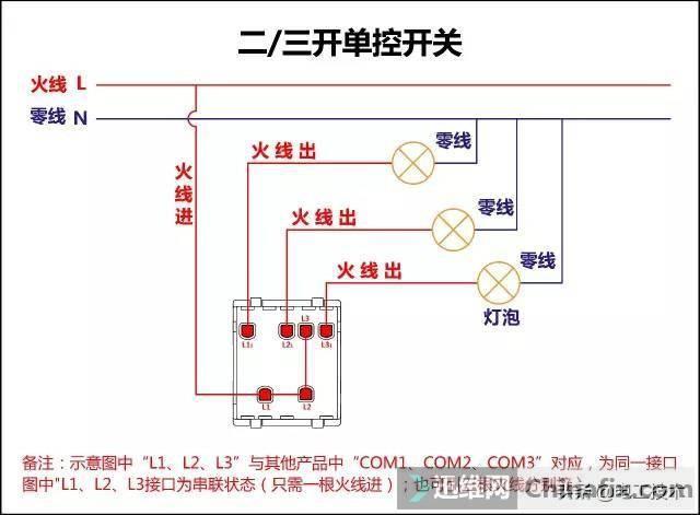 所有开关 电机 断路器 电热偶 电表接线图大全!非常值得收藏-7.jpg