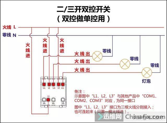 所有开关 电机 断路器 电热偶 电表接线图大全!非常值得收藏-10.jpg