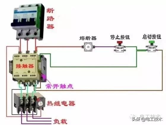 所有开关 电机 断路器 电热偶 电表接线图大全!非常值得收藏-15.jpg