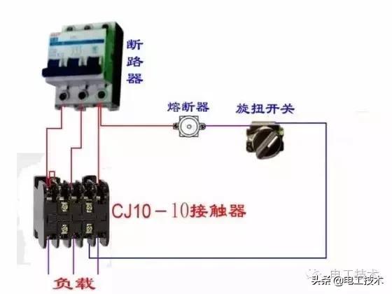 所有开关 电机 断路器 电热偶 电表接线图大全!非常值得收藏-21.jpg