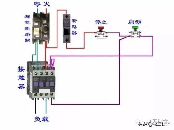 所有开关 电机 断路器 电热偶 电表接线图大全!非常值得收藏-17.jpg