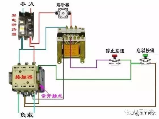 所有开关 电机 断路器 电热偶 电表接线图大全!非常值得收藏-16.jpg