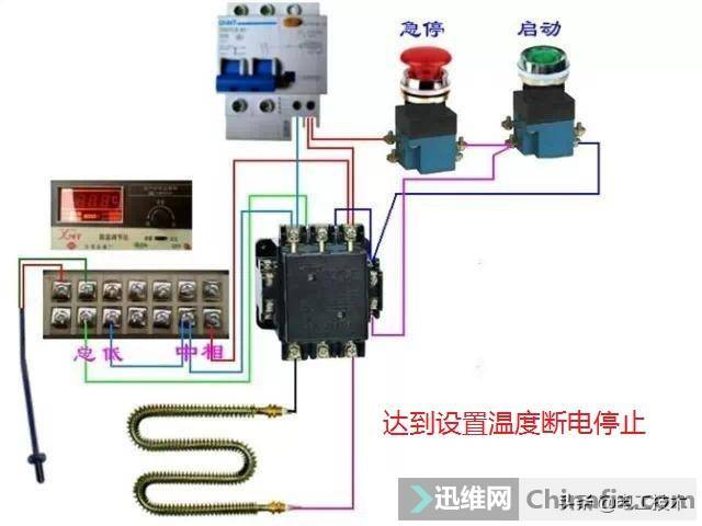 所有开关 电机 断路器 电热偶 电表接线图大全!非常值得收藏-28.jpg