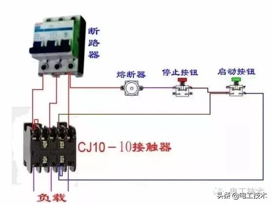 所有开关 电机 断路器 电热偶 电表接线图大全!非常值得收藏-24.jpg