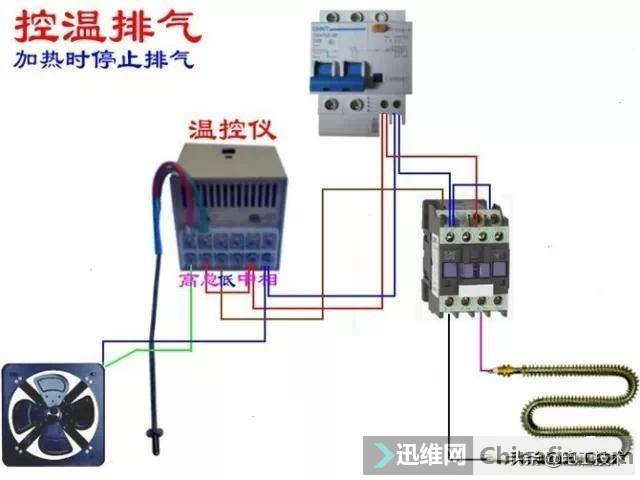 所有开关 电机 断路器 电热偶 电表接线图大全!非常值得收藏-31.jpg