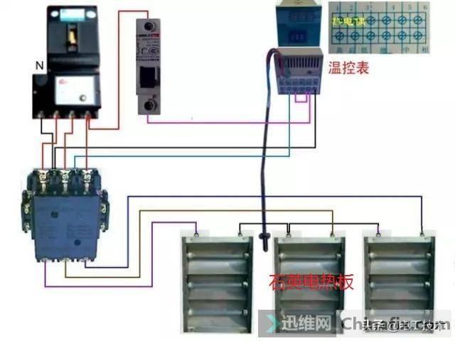 所有开关 电机 断路器 电热偶 电表接线图大全!非常值得收藏-35.jpg