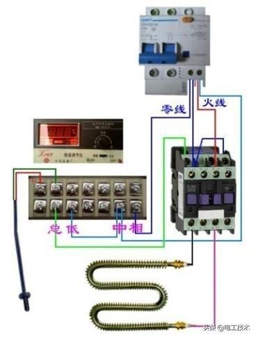 所有开关 电机 断路器 电热偶 电表接线图大全!非常值得收藏-37.jpg