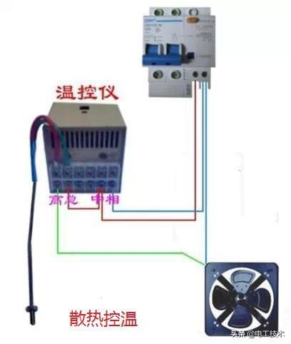 所有开关 电机 断路器 电热偶 电表接线图大全!非常值得收藏-36.jpg