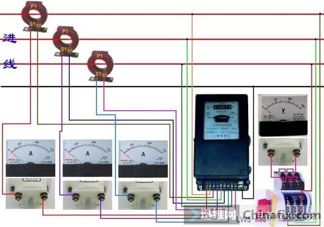 所有开关 电机 断路器 电热偶 电表接线图大全!非常值得收藏-50.jpg