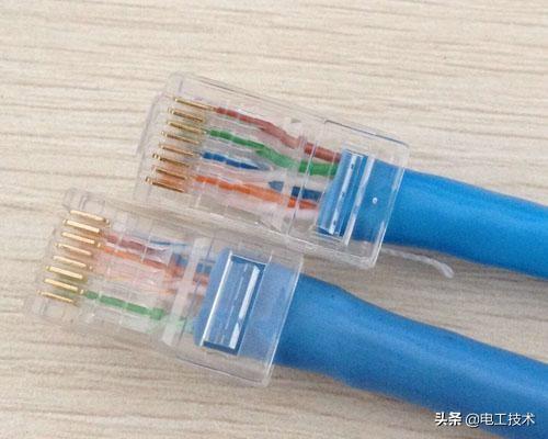 千兆网线和百兆网线有什么区别?千兆和百兆水晶头制作方法-4.jpg