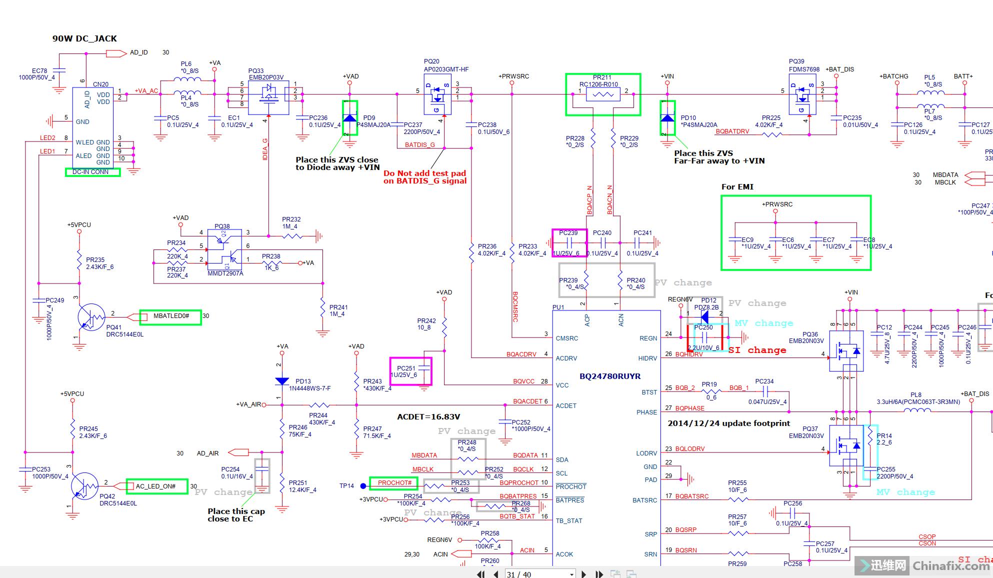 BQ24780公共点前端图