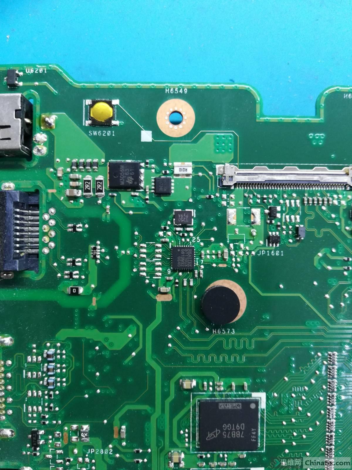 联想主板_华硕X555QG_REV2.0主板高清图。-迅维网-维修论坛