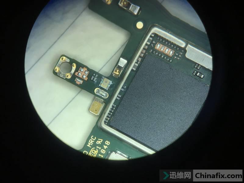华为Nova3i手机进水不开机,定屏卡LOGO维修