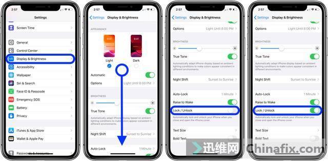 iPhone苹果手机自动锁屏怎么设置?
