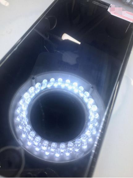 iPhone6进水不开机,有显示无背光维修