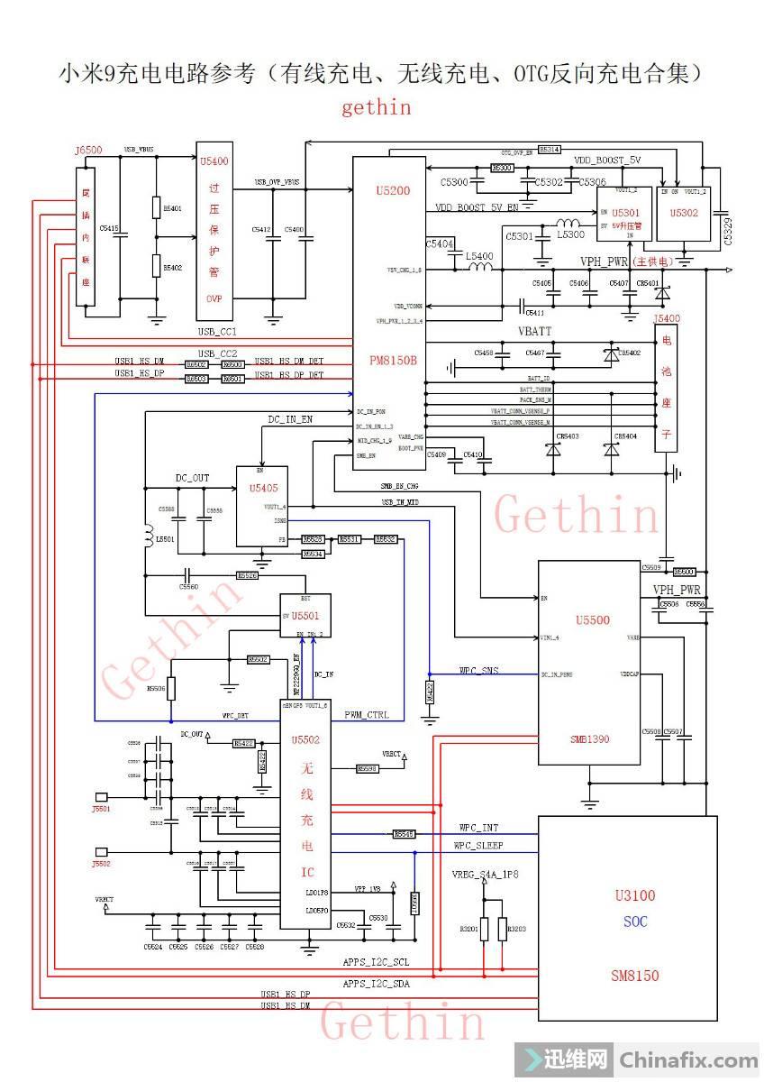 小米9充电电路框图合集.jpg
