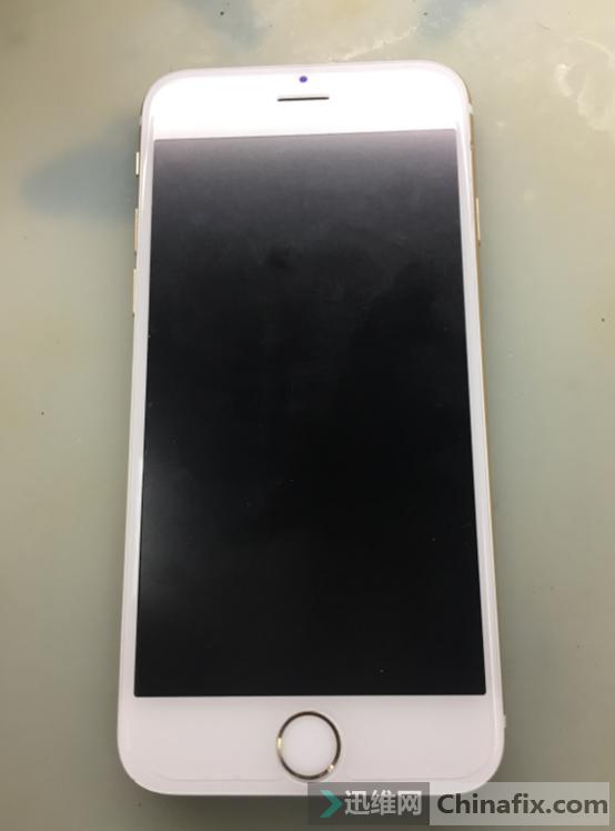 iPhone6s手机搬板导致CPU掉点维修
