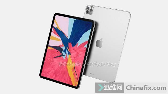 iPadPro 2020正式曝光:后置三摄镜头,或将于3月发布
