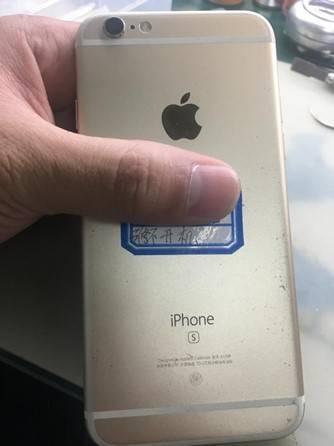 二修iPhone6S手机开不了机维修