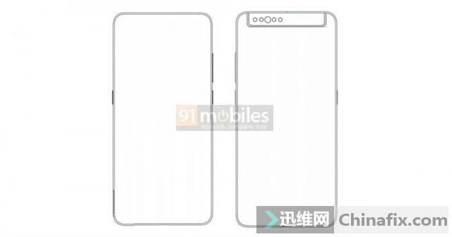 小米新手機專利曝光:背面攝像頭模塊可翻折到前面