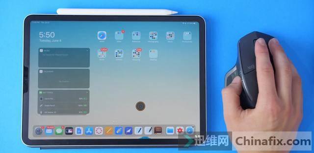 iOS 14细节功能曝光: 新系统将支持更加复杂的鼠标功能?