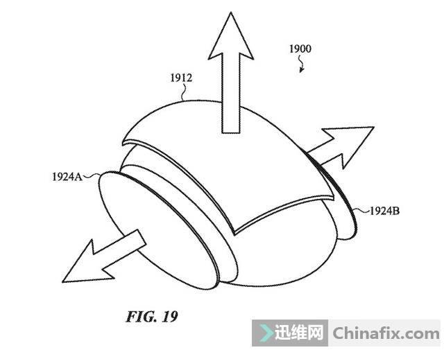 苹果新专利曝光:一款可以根据不同用户改变外形的鼠标