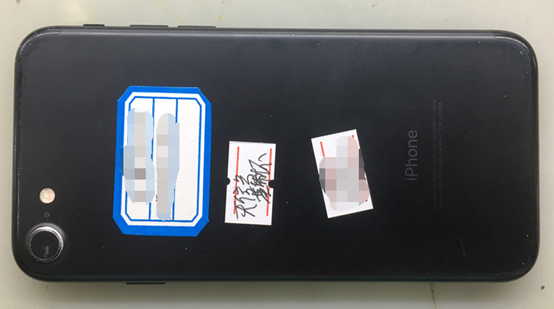 iPhone7手机开机白苹果重启故障维修